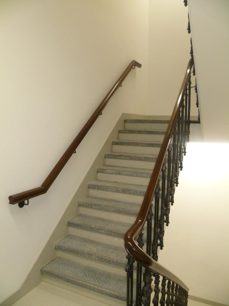 Commercial handrail -Berners Street hotel 1
