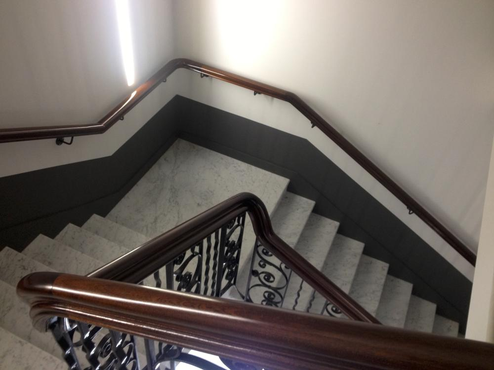 Commercial handrail - Berners Street hotel 4