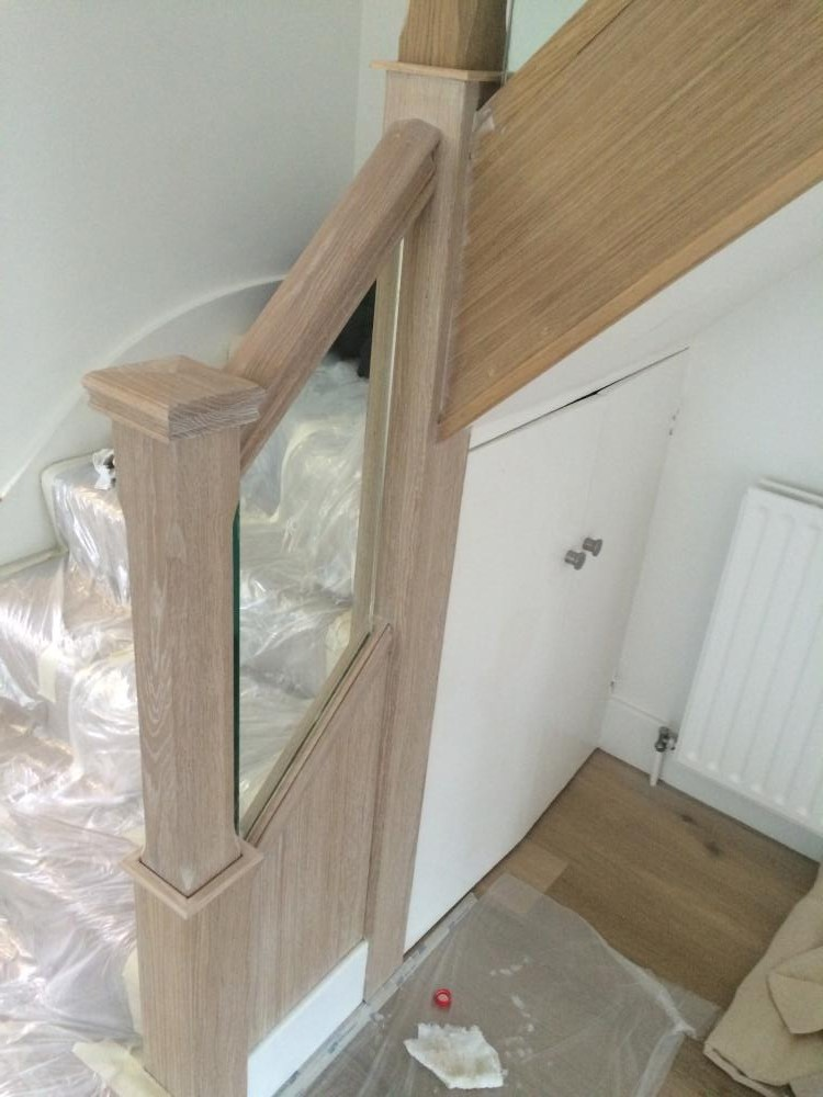 A Limed Oak Staircase