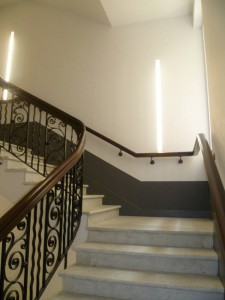 Commercial handrail - Berners Street hotel 3