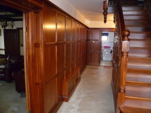 Faded panelling - After