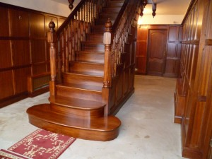 Faded staircase - After