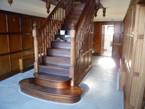 Faded staircase - Before