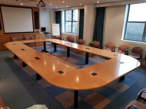 Boardroom table re-sprayed (1)